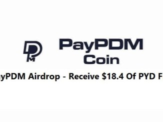 PayPDM Network Airdrop - Receive $18.4 Of PYD Tokens Free
