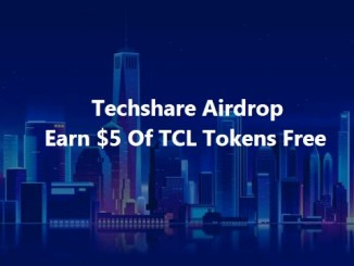 Techshare Airdrop - Earn $5 Of TCL Tokens Free