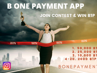 B ONE Airdrop - Earn Up To $85 Of B1P Tokens Free
