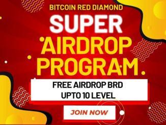 Bitcoin Red Diamond Airdrop - Get BRD Token Free
