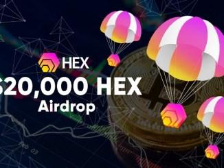 Bitcoin.com Airdrop HEX Token - Giveaway $20,000 Of HEX Tokens