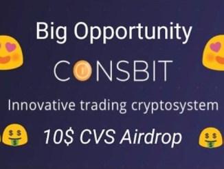 CVS Airdrop On Coinsbit - Get $10 Of CVS Tokens Free