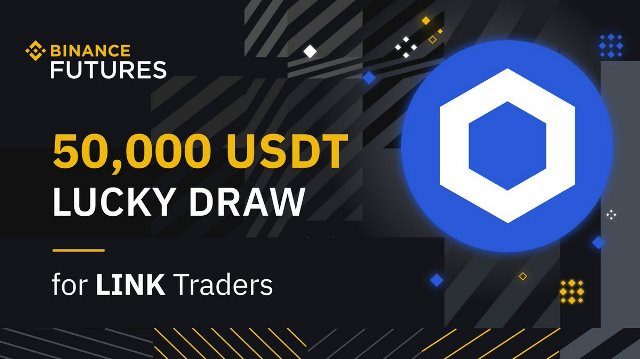 LINK Trading Competition On Binance - Win $50,000 USDT
