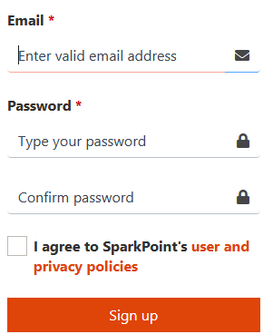 Sparkpoint Account