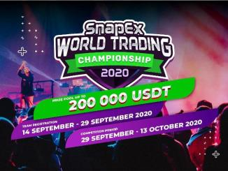 SnapEx Announces World Trading Championship Season 2 with 200,000 USDT Prize Pool for 500 Winners