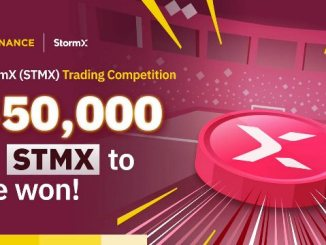 StormX Trading Competition On Binance - Win $50,000 In STMX Tokens