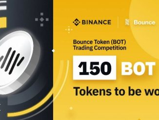 Bounce Token Trading Competition On Binance - Win $65,000 In BOT