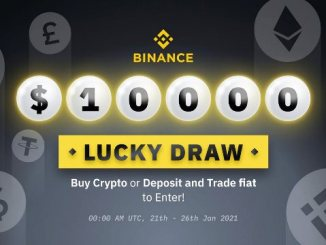 Buy Crypto On Binance To Win $10,000 In A Lucky Draw