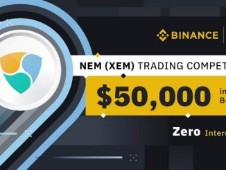 NEM Trading Competition On Binance - Win $50,000 In XEM Tokens