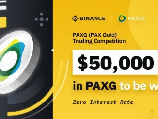 PAX Gold Trading Competition On Binance - Win $50,000 In PAXG Tokens