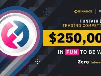 FUN Trading Competition On Binance - Win $250,000 In FUN Tokens