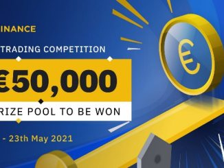 EUR Trading Competition On Binance - 50,000 EUR To Be Won