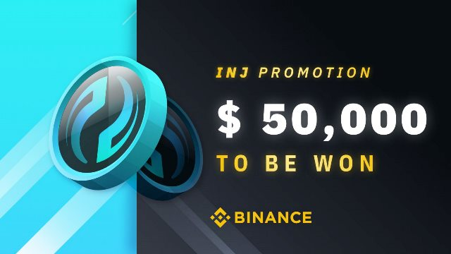 INJ Trading Promotion On Binance - $50,000 In INJ Tokens To Be Claimed