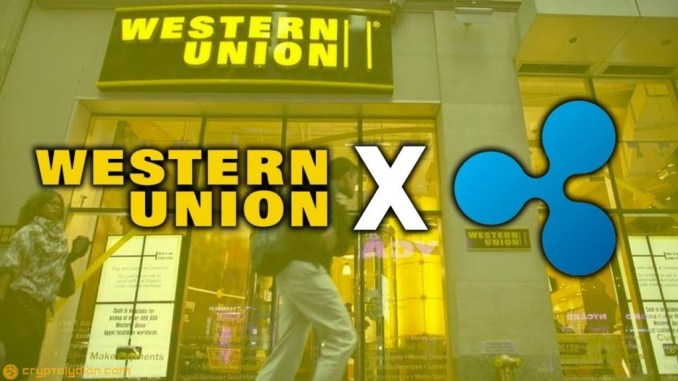 Western Union Continues Testing Ripple, XRP