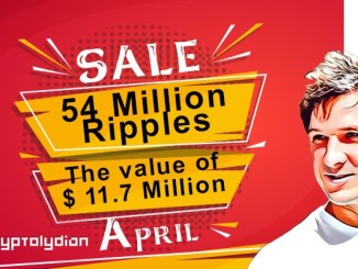 Ripple Co-Founder _ Jed McCaleb _ Sale _ 54M XRP _ April