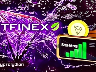 Bitfinex Becomes Tron's Super Representative, Adds Staking Features of TRX on its Platform
