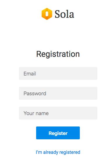SolaRegistration