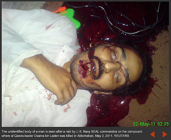 Reuters Photos of Dead At Bin Laden Kill Site