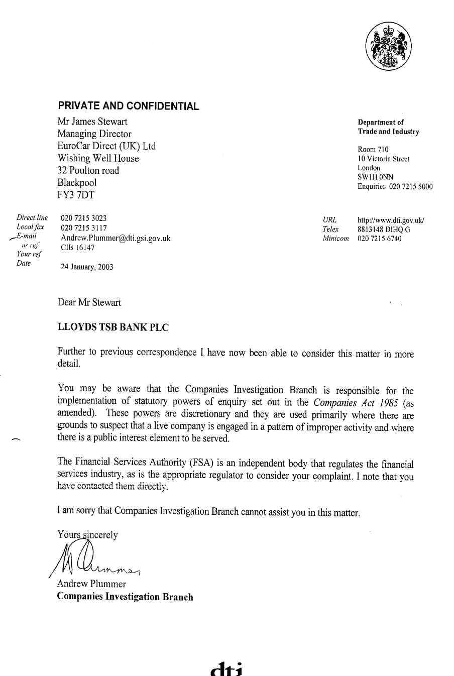 Lloyds TSB Bank Accused of Fraud