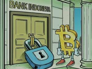 """حملات دعائية مستمرة من البنك المركزي الإندونيسي ضد الكربتوكرنسي """"حظر البيتكوين كوسيلة دفع"""""""
