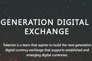 Trade Cryptocurrency with Ease and Security – Singapore-based Cryptocurrency Trading Platform Tokenize Xchange Announces Initial Token Offering