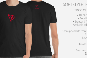 Tron (TRX) Enters Merchandising Phase With T-Shirts and More at Crypto and Proud