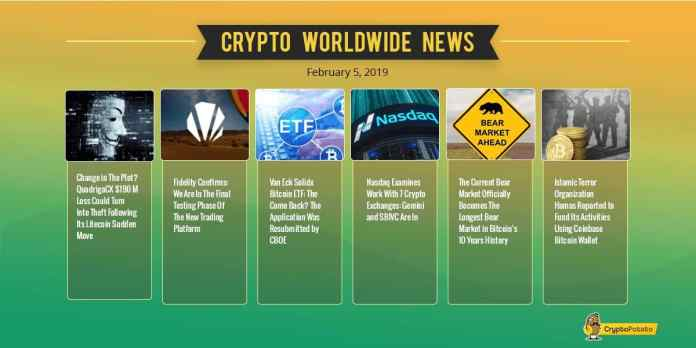 Crypto Market Update Feb.5: Time For ICOs? BitTorrent Surges While Bitcoin Consolidates Around $3400