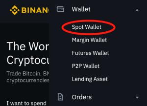Binance wallet png