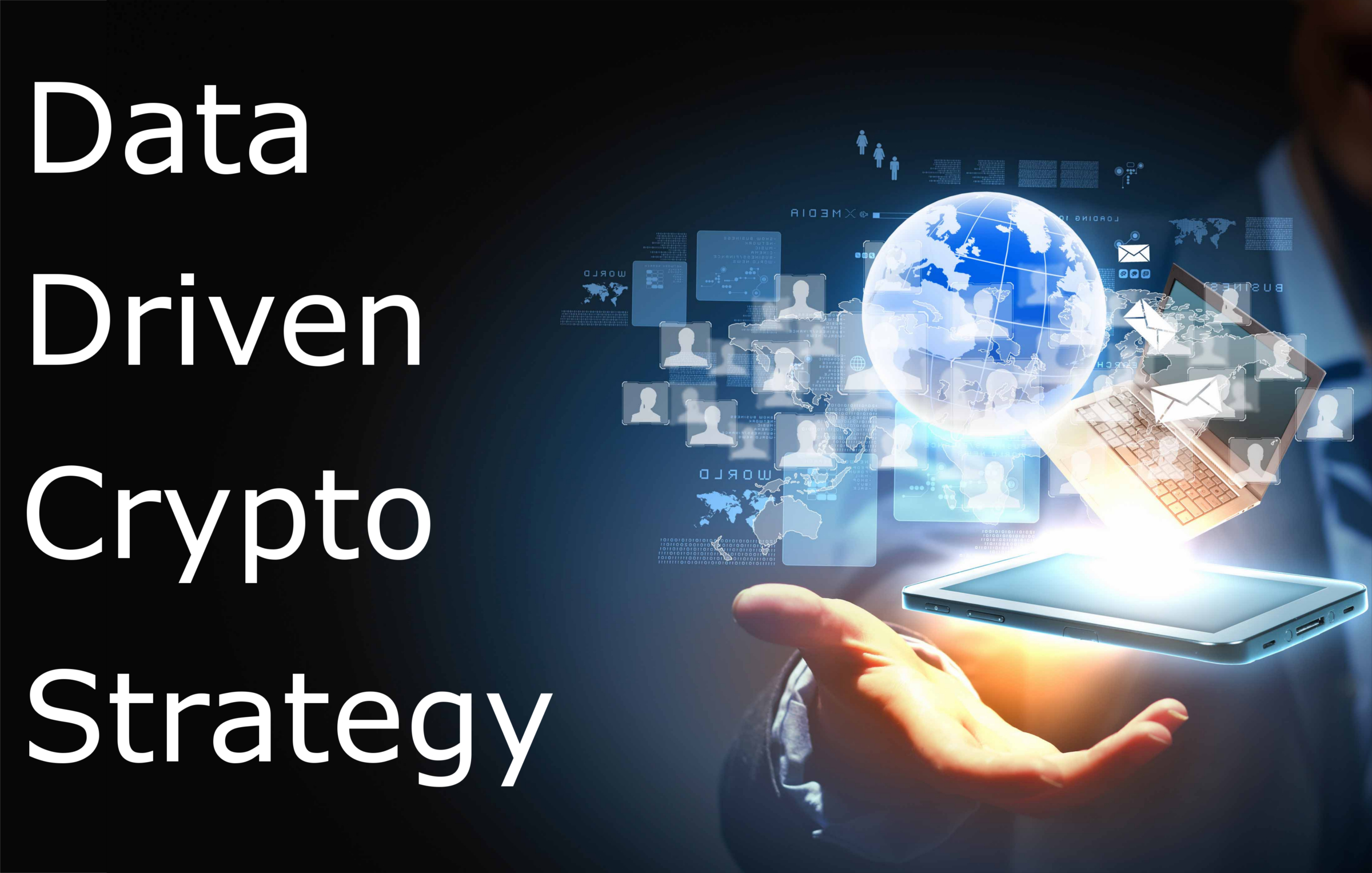 Crypto Data Strategy Side Banner