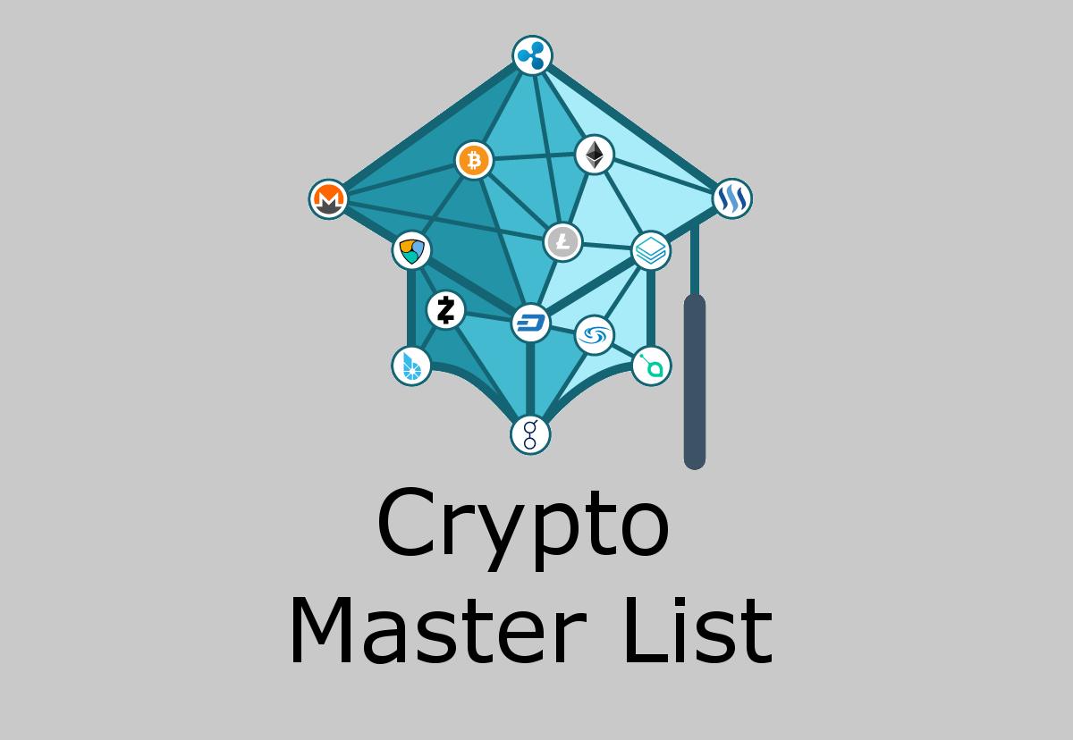 Crypto Master List