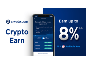 Crypto Earn Side Banner