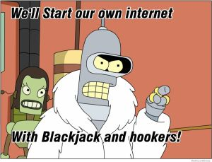 start our own internet