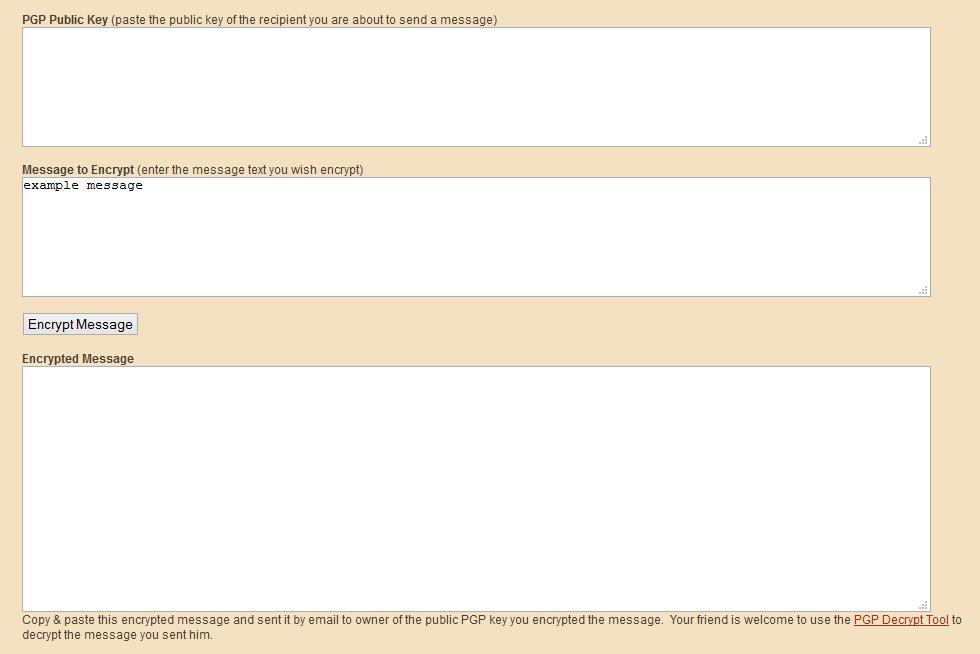 begin pgp encrypted message decoder
