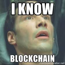 I Know Blockchain, Matrix Meme
