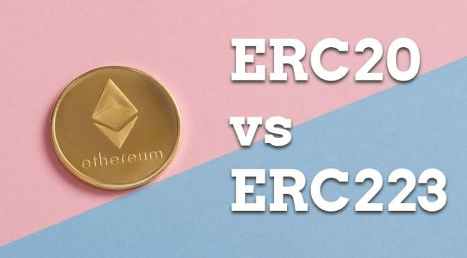 ERC20 Token Design Mistakes vs ERC223 Token