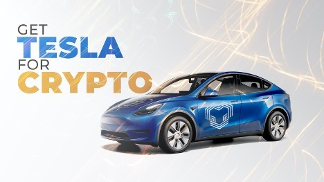 YouHodler Tesla Giveaway