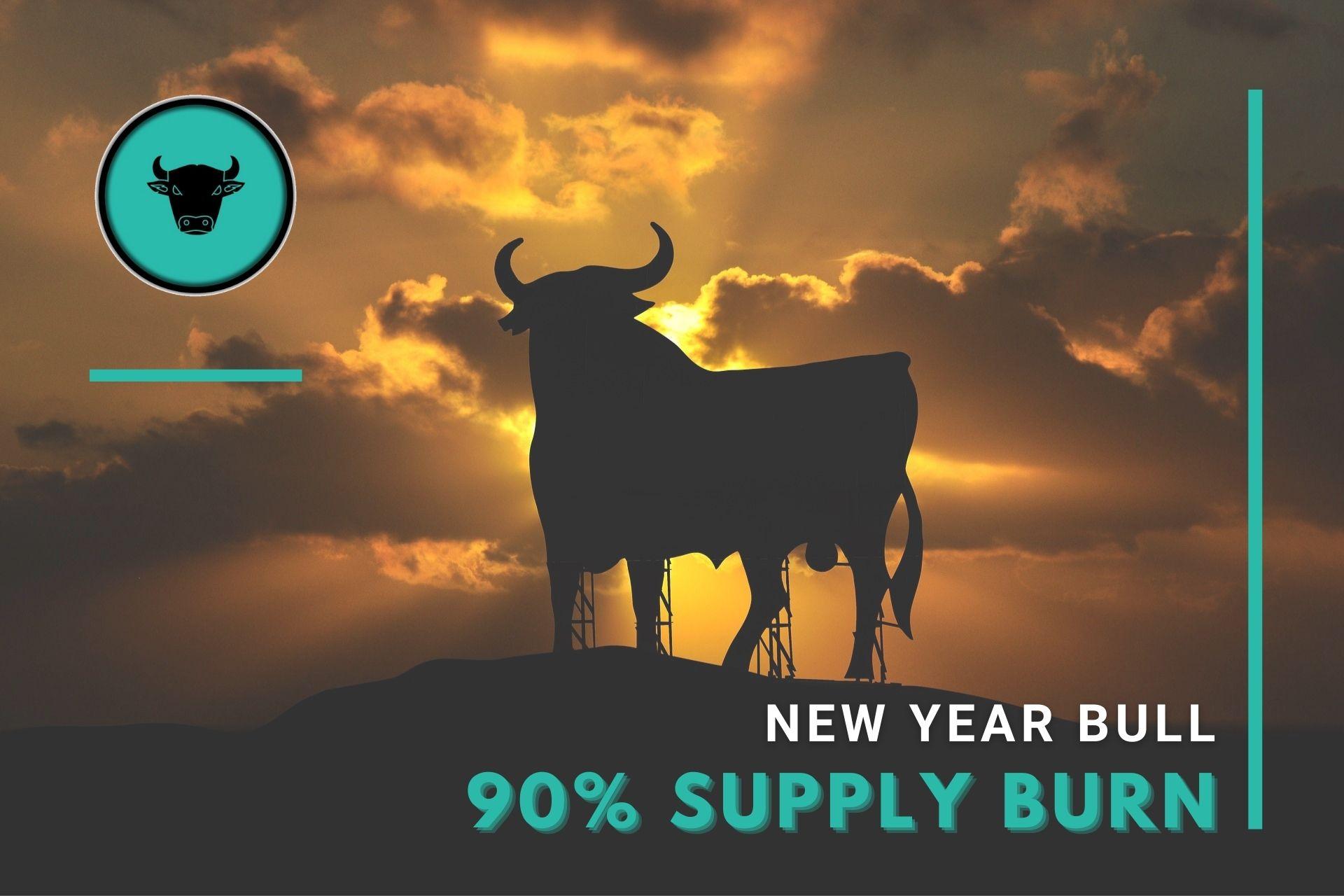 New Year Bull