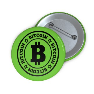 Bitcoin Pin Button