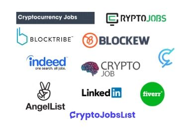 best place to find cryptocurrency jobs