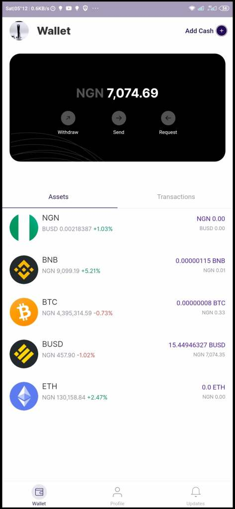 Bundle Africa Wallet