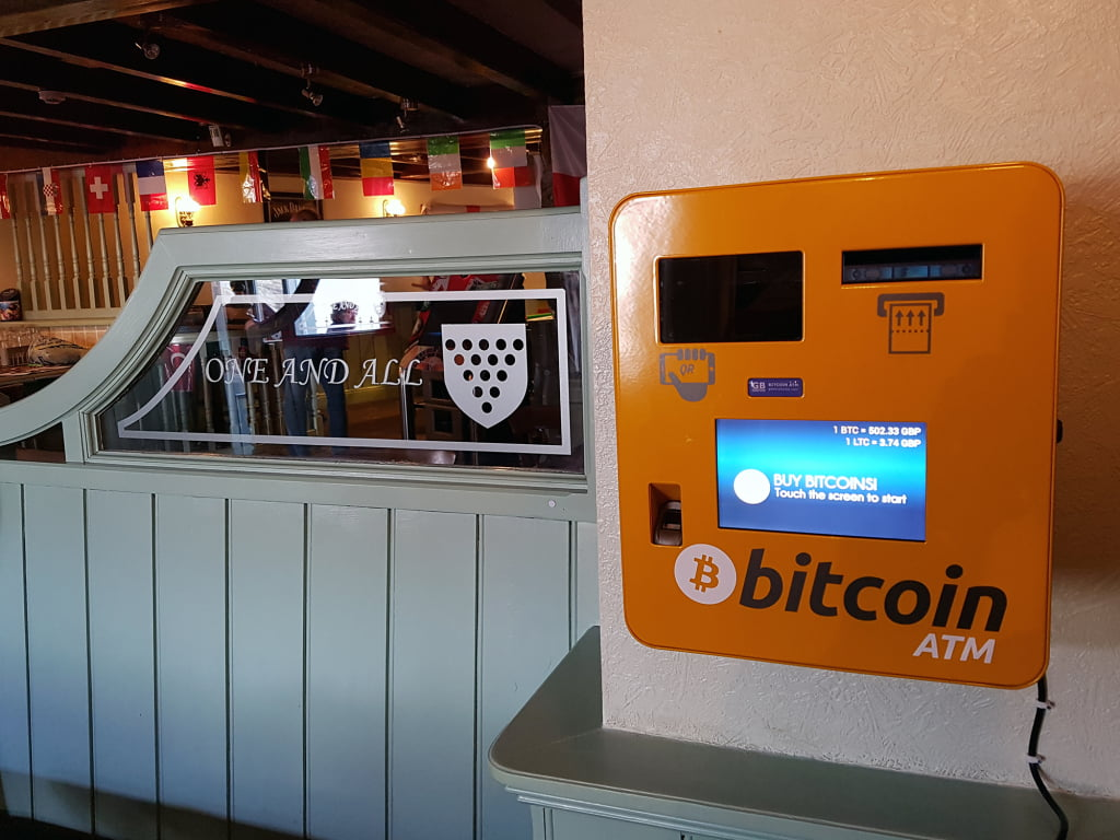 Cryptocurrency ATM  Crypto Startup Ideas