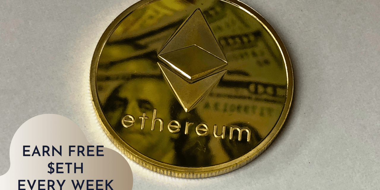 Earn free ETH weekly in the CryptoSorted ShareLove contest