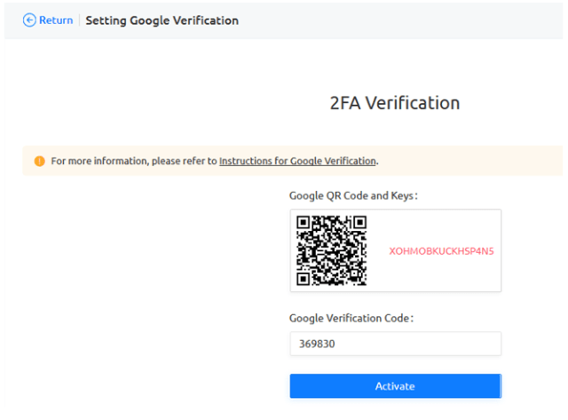 KuCoin Account 2FA Code