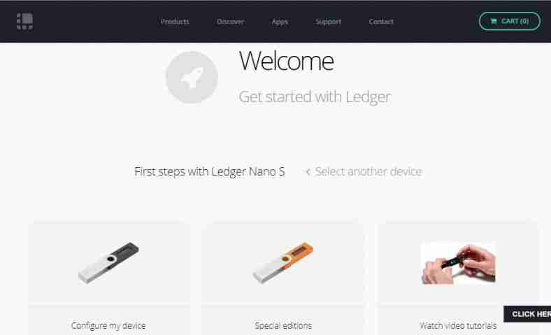 Configure and Set Up a Ledger Nano S (2017 Update)