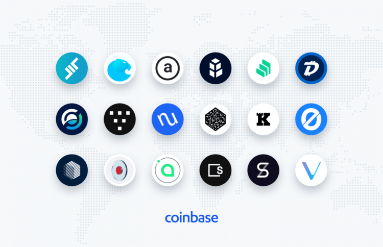 Coinbase is exploring to include another 18 Tokens ...