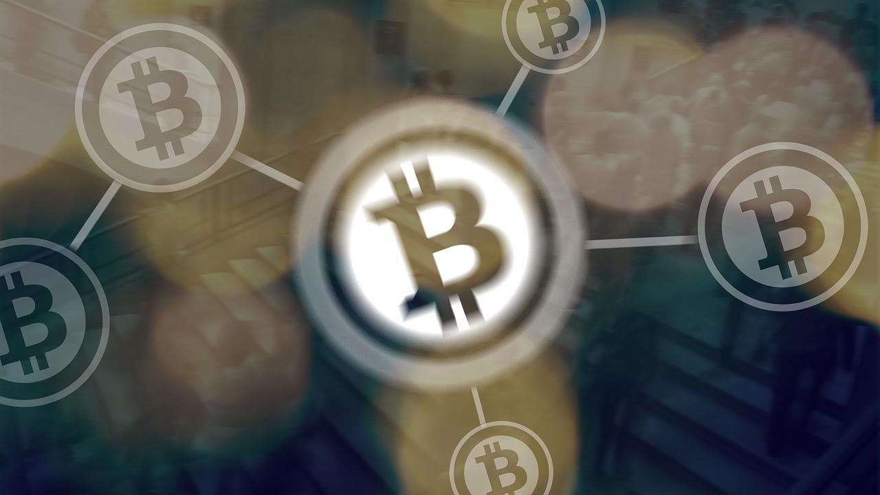 Bitcoin in Netzwerkstruktur
