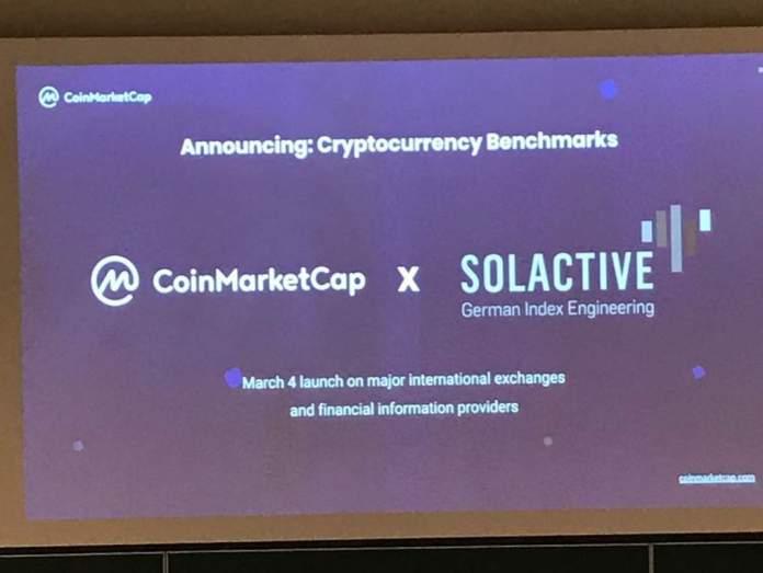 CoinmarketcapとSolactive、暗号インデックスを発表