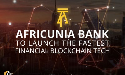 AFRICUNIA Bank will be 100% fully Digital Crowdfunded Open Bank based on the Blockchain Technology 4.0 and that this Blockchain Digital Bank