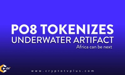PO8 Tokenizes Underwater artifact - says Africa may be next