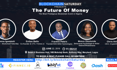 The much anticipated prestigious blockchain event, Blockchain Saturday is set to return in Lagos, Nigeria. We are proud to announce that the 6th edition of The Blockchain Saturday event is here.